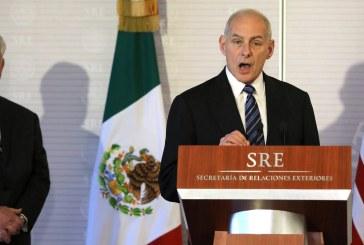 وزير الأمن الداخلي الأمريكي يؤكد من المكسيك أنه «لن تحصل عمليات طرد جماعية»