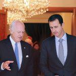 فيديو  الزعبي: دي ميستورا يريد تشكيل وفد معارضة على مقياس الأسد