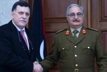 فيديو| لقاء مرتقب في القاهرة بين حفتر والسراج لبحث حل الأزمة الليبية