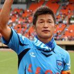 العجوز ميورا.. أكبر لاعب سنا يهز الشباك باليابان