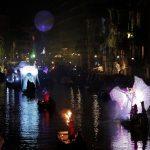 انطلاق مهرجان في فينيسيا بمشاركة محتفلين بالأقنعة المزخرفة