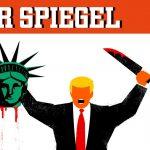 مجلة ألمانية تدافع عن غلاف يهاجم ترامب