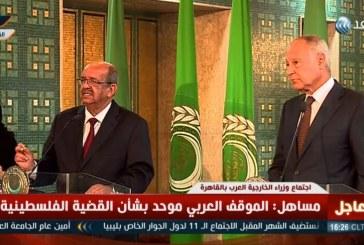 فيديو| الأزمة الليبية والقضية الفلسطينية تتصدران مناقشات وزراء الخارجية العرب