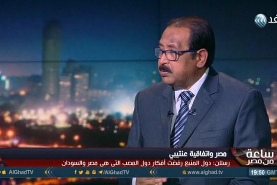 فيديو| رسلان: مصر راجعت موقفها من «عنتيبي» لإنهاء الانقسام بين دول حوض النيل