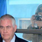 وزير الخارجية الأمريكي يؤكد أن التحرك العسكري ضد كوريا الشمالية «خيار وارد»