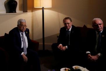 عباس: إدارة ترامب «تفكر جديا» بحل القضية الفلسطينية
