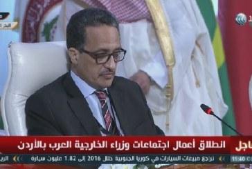 فيديو| وزير الخارجية الموريتاني: القضية الفلسطينية تبقى الأهم لدى العرب