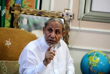 الزهار في حوار خاص لـ«الغد»: علاقة «حماس» مع مصر في تحسن مستمر