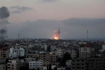 الطيران الحربي الإسرائيلي يشن غارتين على قطاع غزة