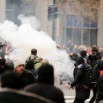 قوات الأمن الفلسطينية تستخدم القوة لتفريق مظاهرة في رام الله