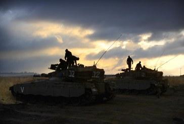 إصابة شاب فلسطيني بقذيفة إسرائيلية في شمال غزة