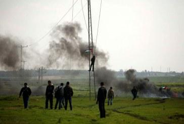 إصابة ثلاثة فلسطينيين برصاص الاحتلال الإسرائيلي شمال قطاع غزة