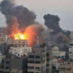 فيديو| الاحتلال الإسرائيلي يقصف موقعا للمقاومة قرب بيت لاهيا شمال غزة بعدة قذائف
