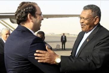 رئيس وزراء تونس يزور السودان