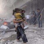 طائرات روسية تقتل 30 مدنيا قرب دمشق