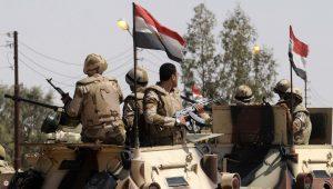 استشهاد ضابط و5 مجندين من الجيش المصري ومقتل 3 تكفيريين في سيناء   قناة الغد