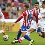 إيسكو يقود ريال لفوز مثير على خيخون وبرشلونة يواصل المطاردة