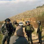 قوات الاحتلال الإسرائيلي تشرع بعمليات تجريف شمالي الضفة