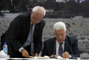 وفد فلسطيني رفيع يستبق زيارة عباس إلى واشنطن