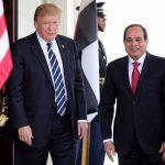 البيت الأبيض: ترامب ناقش مع السيسي سبل رحيل الأجانب عن ليبيا