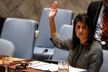 الولايات المتحدة تحض مجلس الأمن الدولي على التركيز على إيران