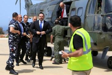 الحريري يدعو الأمم المتحدة إلى المساعدة في هدنة دائمة مع إسرائيل