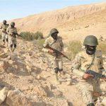 الجيش المصري يضبط 3 تكفيريين ويدمر 9 أوكار بشمال سيناء
