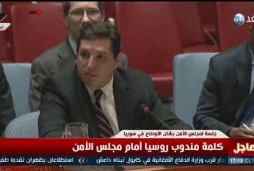 فيديو| روسيا: لا نقبل أن يهيننا أحد في مجلس الأمن