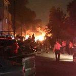 العراق: 8 مصابين في انفجار قنبلة يدوية وسط بغداد