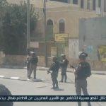 فيديو| الاحتلال يطلق قنابل الغاز لتفريق المتظاهرين في بيت لحم