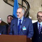 فيديو  مؤتمر صحفي لرئيس وفد الحكومة السورية إلى جنيف