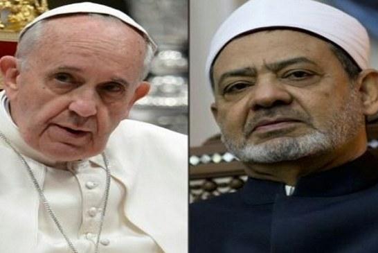 برعاية شيخ الأزهر وبابا الفاتيكان : رسالة سلام مشتركة.. للعالم