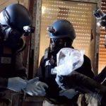روسيا وسوريا تحاولان تطهير موقع الهجوم الكيماوي