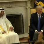 فيديو| الرئيس الأمريكي يستقبل ولي عهد أبو ظبي الشيخ محمد بن زايد