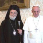 البابا فرانسيس يقبل استقالة بطريرك الروم الملكيين الكاثوليك
