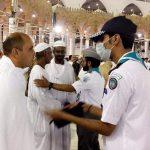 صور| 1000 كشاف سعودي لخدمة المعتمرين في رمضان