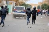 فيديو| قتيل في مواجهات بين الأمن التونسي ومتظاهرين