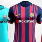 تسريب صور لزي نادي برشلونة للموسم المقبل