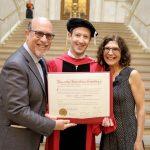 مارك زكوربرج يتخرج من جامعة هارفارد