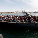 مقتل 35 مهاجرا في البحر المتوسط قبالة سواحل ليبيا