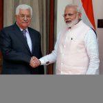 عباس: نعول على دعم الهند لجعل حل الدولتين واقعا ملموسا
