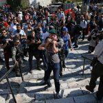 صور| الاحتلال يعتدي على مسيرة فلسطينية في القدس
