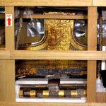 نقل السرير الجنائزي والعجلة الحربية لتوت عنخ آمون إلى المتحف الكبير
