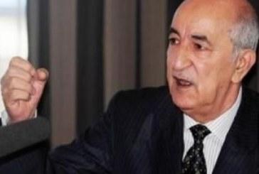 تعيين عبد المجيد تبون رئيسا لوزراء الجزائر