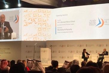 انطلاق منتدى الإعلام العربي فى دبي