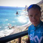 كريس فروم بطل سباقات الدراجات يتعرض لحادث دهس