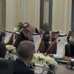 فيديو  مراسم توقيع عدد من الاتفاقيات بين الولايات المتحدة والسعودية