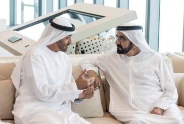 محمد بن راشد ومحمد بن زايد يؤكدان أهمية دور الشباب في البناء والتطوير