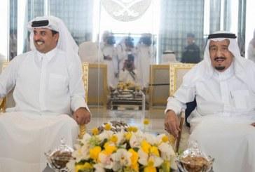 صور| «آل الشيخ» السعودية تنفي نسب أمير قطر للأسرة