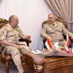 فيديو| رئيس الأركان المصري يلتقي حفتر وقيادات الجيش الليبي في ذكرى «الكرامة»